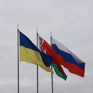 Россия, Белоруссия и Украина