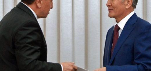 Жээнбеков и Атамбаев