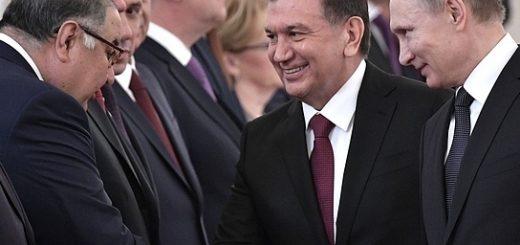 Усманов, Мирзиеев и Путин