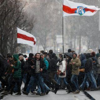 Митинги в Белоруссии