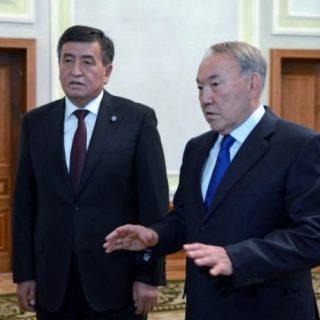 Назарбаев и Жээнбеков