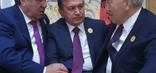 Рахмон, Мирзиеев и Назарбаев