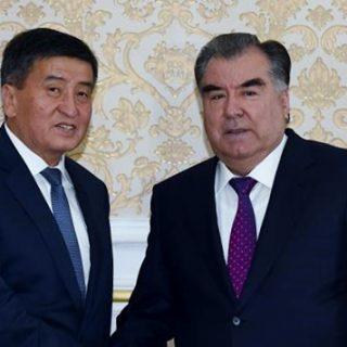 Жээнбеков и Рахмон