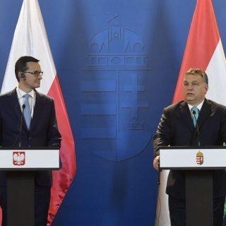 Виктор Орбан и Матеуш Моравецкий