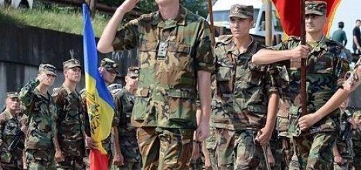 Молдавские и румынские военные