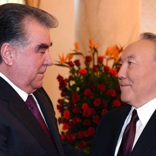 Назарбаев и Рахмон
