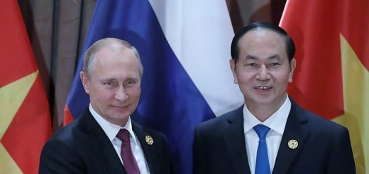 Путин и Чан Дай Куанг