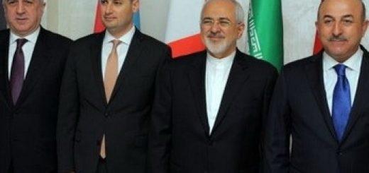 Главы МИД Азербайджана, Грузии, Турции и Ирана
