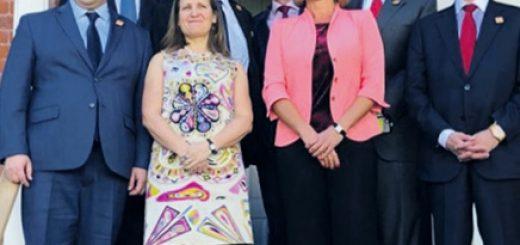Главы МИД G7 и министр иностранных дел Украины Павел Климкин