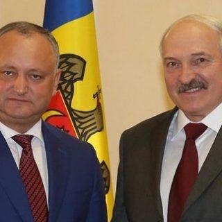 Лукашенко и Додон