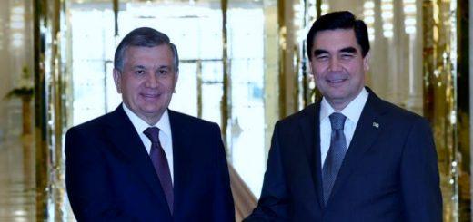 Мирзиеев и Бердымухамедов