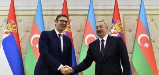 Вучич и Алиев