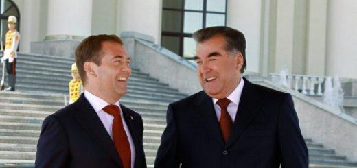 Медведев и Рахмон