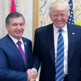 Мирзиеев и Трамп