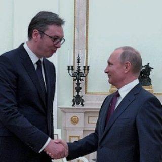 Путин и Вучич