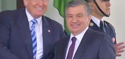 Трамп и Мирзиеев