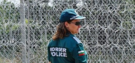 Забор против мигрантов в Болгарии