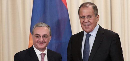 Лавров и Мнацаканян