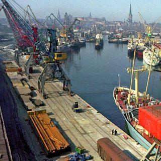 Эстонский порт