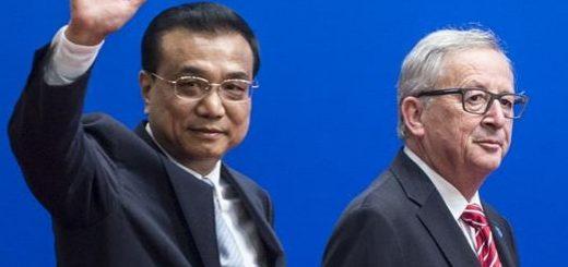 Юнкер и Ли Кэцян