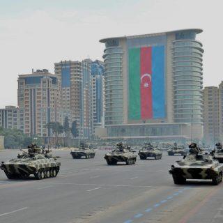 Военный парад в Азербайджане