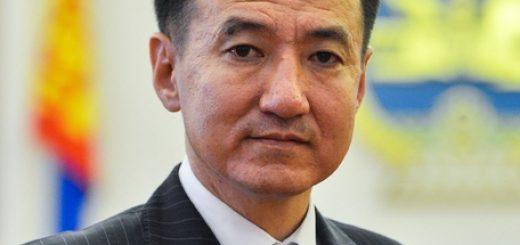 Глава МИД Монголии Дамдин Цогтбаатар