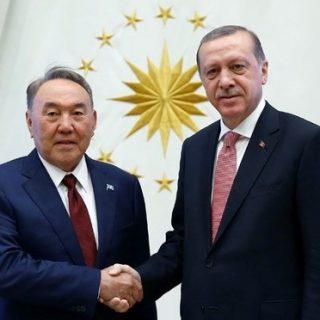 Назарбаев и Эрдоган