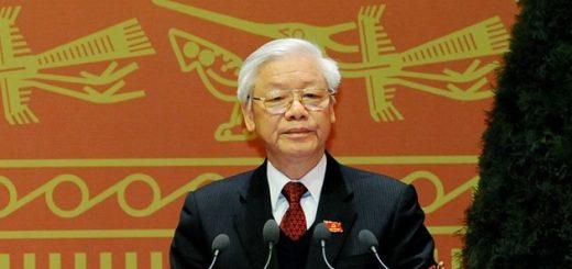 Президент Вьетнама Нгуен Фу Чонг