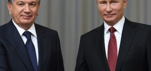Путин и Мирзиеев