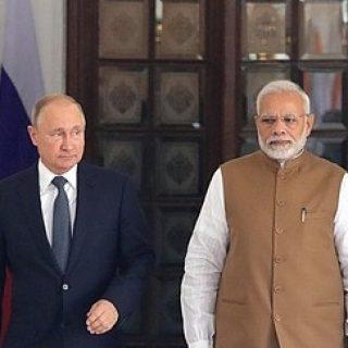 Путин и Моди
