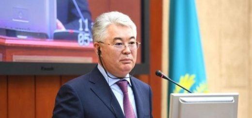 Глава МИД Казахстана Бейбут Атамкулов