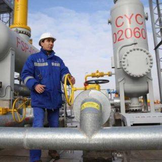 Газ в Казахстане
