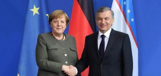 Мирзиеев и Меркель