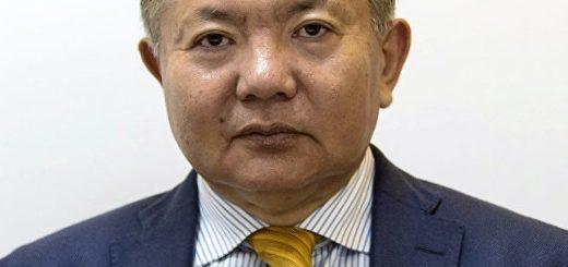 посол Киргизии в России Аликбек Джекшенкулов