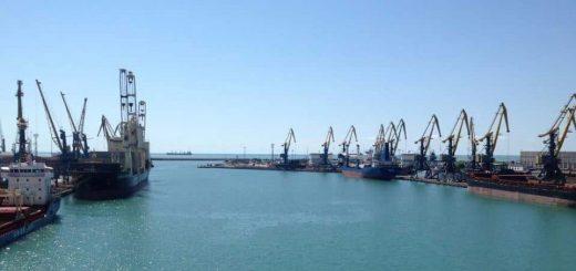 Грузинский порт Поти