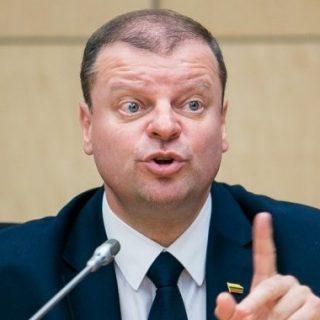Премьер Литвы Саулюс Сквернялис