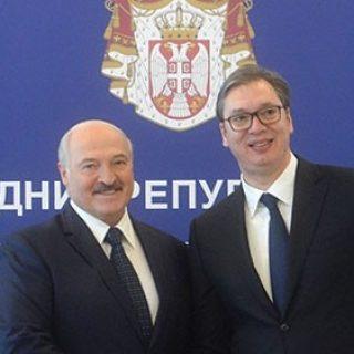 Лукашенко и Вучич