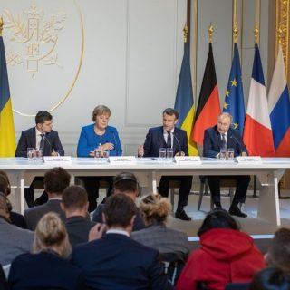 """Саммит """"нормандской четверки"""" в Париже"""