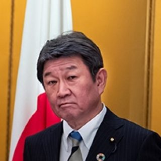 Глава МИД Японии Мотэги