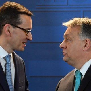 Матеуш Моравецкий и Виктор Орбан