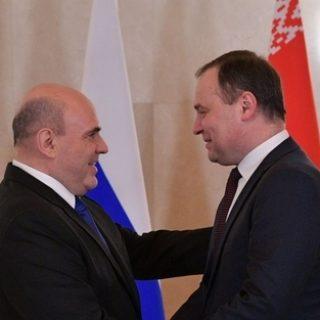 Мишустин и Головченко