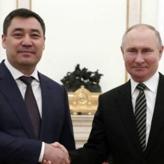 Путин и Жапаров
