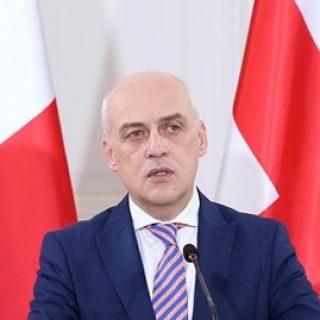 Глава МИД Грузии Давид Залкалиани