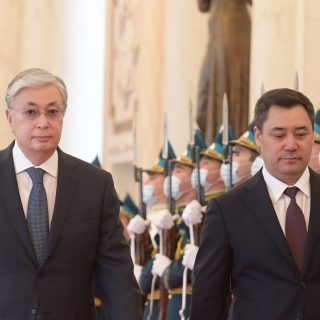 Токаев и Жапаров