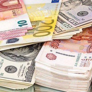 Доллар, евро и рубль